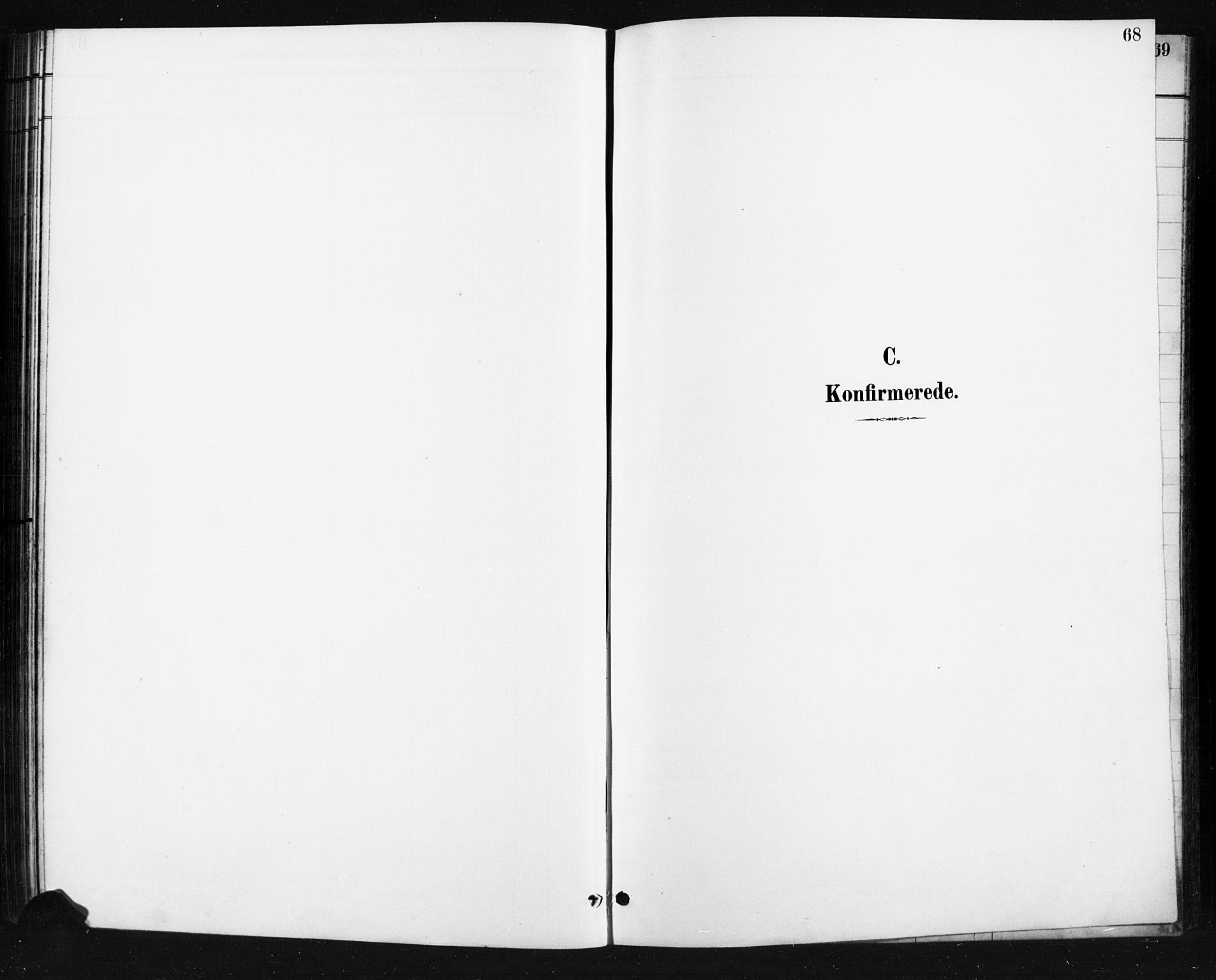Bilde av kirkebokside