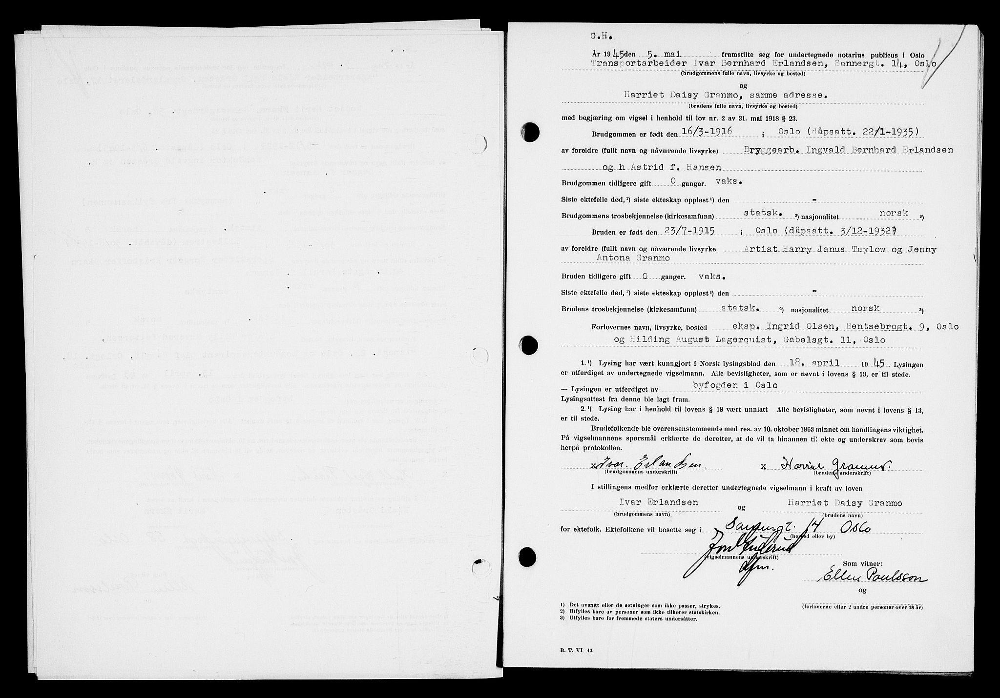 publicus notarius oslo